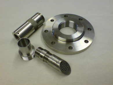 precision CNC machined components